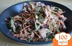 Фото рецепта: «Овощной салат с тунцом»