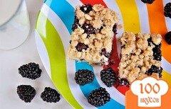 Фото рецепта: «Пирожные с ежевикой»