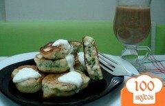 Фото рецепта: «Оладьи зелёные»