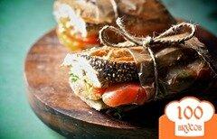 Фото рецепта: «Сэндвичи с помидорами»