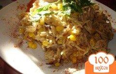 Фото рецепта: «Паєлья с курицей и грибами»