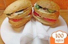 Фото рецепта: «Яичный сэндвич»