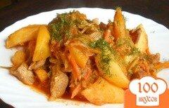 Фото рецепта: «Азу по-татарски»
