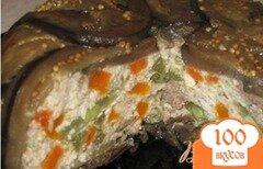 Фото рецепта: «Баклажановая запеканка с куриным фаршем и овощами»