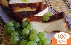 Фото рецепта: «Творожная запеканка с ароматом персика»