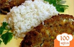 Фото рецепта: «Рыбные котлеты из консервы»
