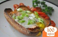 Фото рецепта: «Запеченная семга с яйцом»