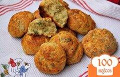 """Фото рецепта: «Булочки с сыром по мотивам """"Cheese-scones""""»"""