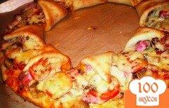 "Фото рецепта: «Пицца ""Корона""»"