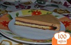 Фото рецепта: «Карамельный тортик»