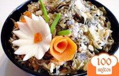 Фото рецепта: «Салат из ламинарии с морковью»