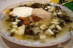 Фото рецепта: «Суп со щавелем»