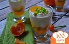 Фото рецепта: «Творожно-цитрусовый десерт»