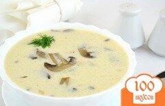 Фото рецепта: «Суп из шампиньонов в мультиварке»
