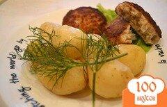 Фото рецепта: «Котлеты из щуки с салом»