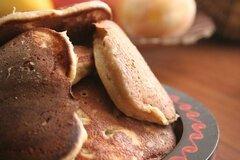 Фото рецепта: «Гречнево-банановые оладьи»
