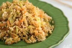Фото рецепта: «Капуста с рисом»