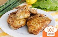 Фото рецепта: «Курица на решетке в кисло-сладком соусе»