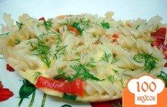 Фото рецепта: Макаронная запеканка для завтрака