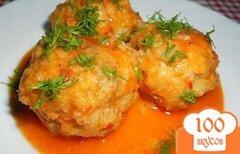Фото рецепта: Рыбные тефтели в томате