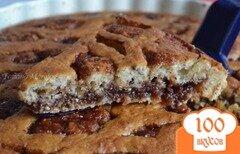 Фото рецепта: «Бисквитный пирог с повидлом»