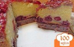 Фото рецепта: «Вишневый пирог»