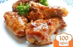Фото рецепта: «Крылья куриные в томатном маринаде»