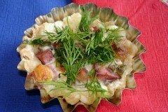 Фото рецепта: «Запеченые тарталетки с начинкой»