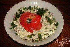 Фото рецепта: «Салат из печени с огурцом»