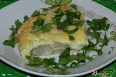 Фото рецепта: «Минтай в сырном суфле»