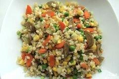 Фото рецепта: «Рис жареный с овощами»