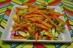 Фото рецепта: «Картофельно-морковный салат»