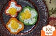 Фото рецепта: «Яичница в перцах»