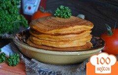 Фото рецепта: «Томатные оладьи»