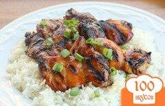 Фото рецепта: «Курица-гриль по-гавайски»