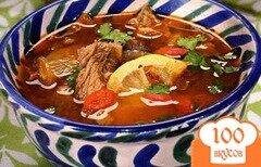 Фото рецепта: «Суп с копчеными ребрышками»