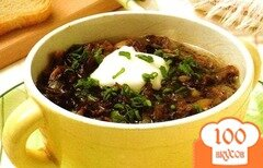 Фото рецепта: «Грибной суп из сушеных грибов»