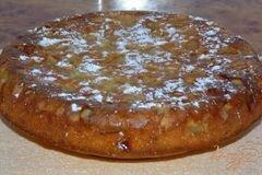 Фото рецепта: «Яблочный пирог на сметанном тесте»