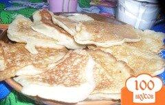 Фото рецепта: «Фруктовые оладьи»