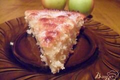 Фото рецепта: «Яблочно-кокосовый пирог»