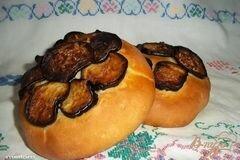 Фото рецепта: «Мини-лепешки с баклажанами»