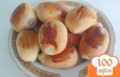 Фото рецепта: «Слоёные пирожки в духовке из неслоёного теста»