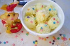 Фото рецепта: «Мороженое кокосовое»