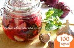 Фото рецепта: «Маринованные овощи с мелиссой»