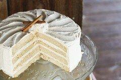 Фото рецепта: «Торт со сливочно-коричным кремом»