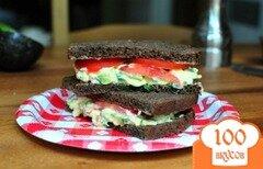 Фото рецепта: «Кремообразный салат с авокадо и яиц»
