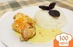 Фото рецепта: «Кролик в сметанном соусе»