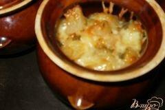 Фото рецепта: «Картофель с мясом в горшочках»