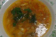 Фото рецепта: «Суп из морского окуня»