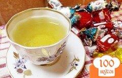 Фото рецепта: «Старинный рецепт зеленого чая с лаймом и мятой»